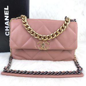 Chanel 19 Large Flap Bag  30x20cm  Brand New
